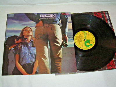 LP - Scorpions Animal Magnetism - 1980 # cleaned