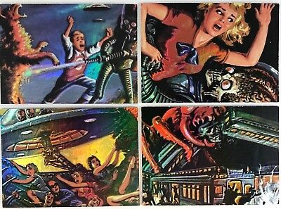 Topps Mars Attacks Matrix Insert Cards  1994 ....choose Set Or Singles By Topps