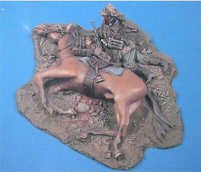 VERLINDEN PRODUCTIONS #0674 WWII German Double Trouble w/Horse in 1:35
