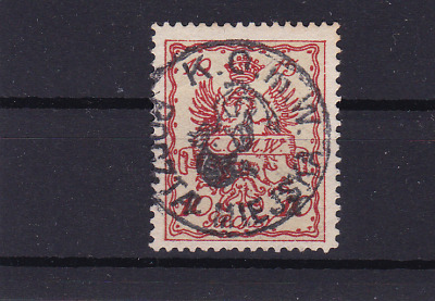 poland warsaw  local post 1915 used stamp  ref r13825