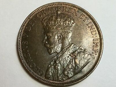 CANADA 1913 1 Cent coin uncirculated