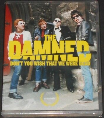 THE DAMNED don't you wish that we were dead USA BLU-RAY + DVD new ALL REGIONS