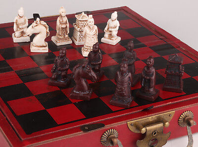 Wood Leather Classic Chess Figure Game Chess Figures Collectable
