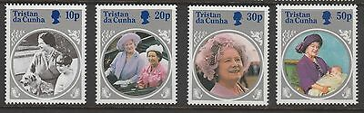 Tristan Da Cunha 1986 Life & Times Queen Elizabeth Queen Mother Set MUH #