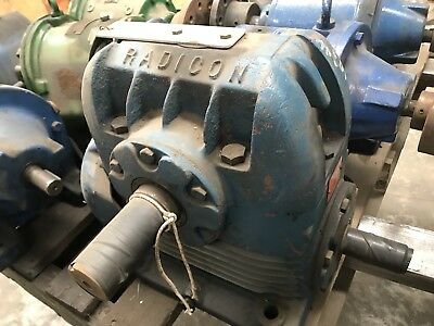Radicon RU500  Worm Reducer Drive 40:1 Reduction Gearbox