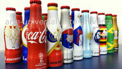 ⚽ 24 Mini Coca Cola Bottles Russia Soccer Football World Cup 2018 Mexico Edition