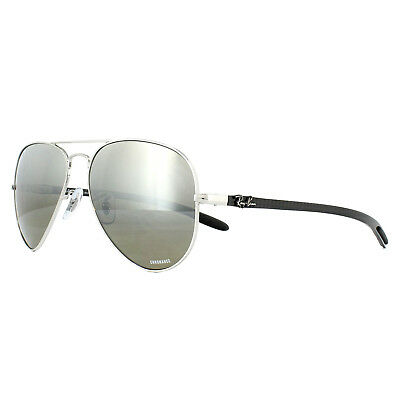Ray-Ban Sunglasses RB8317CH 003 5J Silver Silver Mirror Polarized Chromance a40642e5bd1b