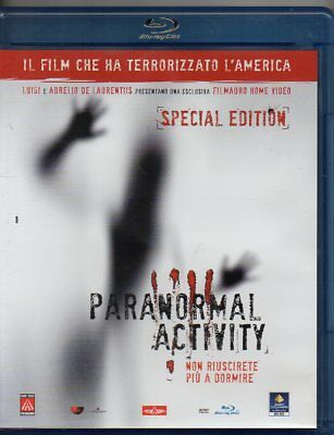 Paranormal Activity  - Blu-Ray (Come Nuovo)