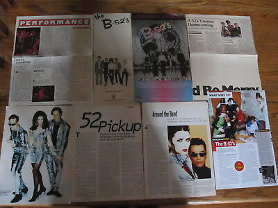 The B-52S Us Clippings