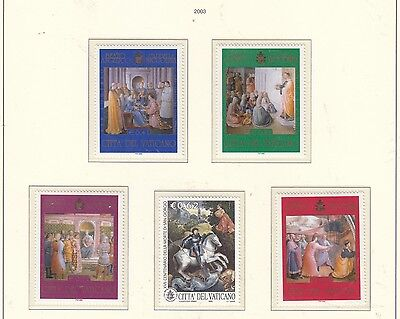 VATICAN CITY 2003 Two Sets   MUH
