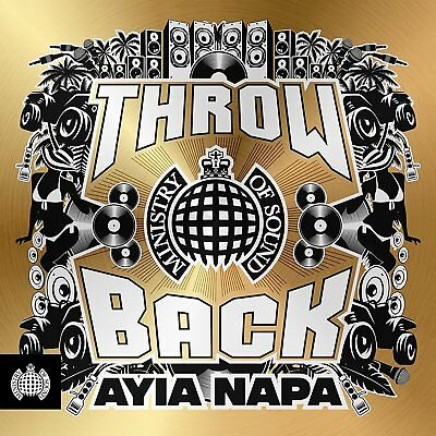 THROWBACK AYIA NAPA (Ministry of Sound) 3 CD SET (2018) (New & Sealed)