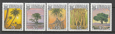 TUVALU 1990 Trees Set MUH