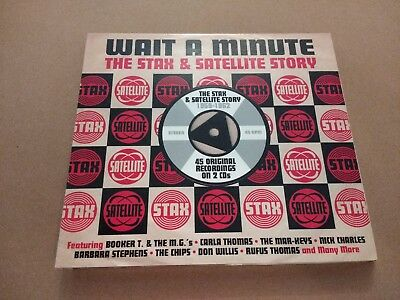 V/a * Wait A Minute ~ The Stax & Satellite Story * 2 X Cd Digipak Nr Mint