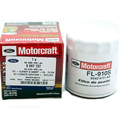 Genuine Ford Motorcraft Oil Filter 5097737 FL-910S Mustang Focus RS