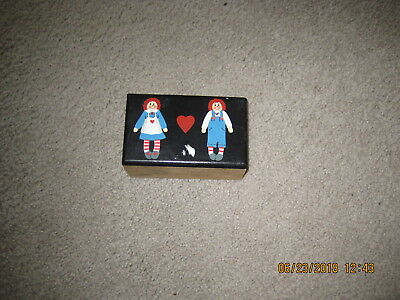 Rageddy Ann & Andy Wood Trinket Box