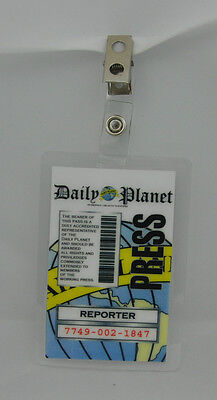 Superman Smallville ID Badge-Daily Planet Reporter
