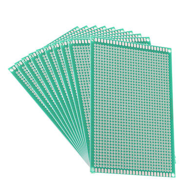 8x12cm Single Sided Universal Printed Circuit Board for DIY Soldering 10pcs