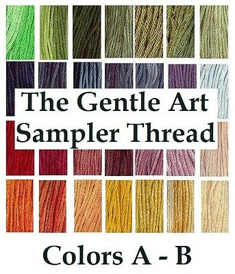 The Gentle Art Sampler Thread CHOOSE Colors A - B **Buy 15+ for FREE SHIPPING**