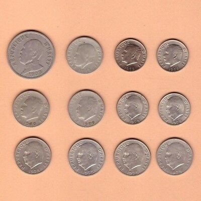 Haiti - (1908-1975) - Coin Collection Lot # D-11 - World/Foreign/North America