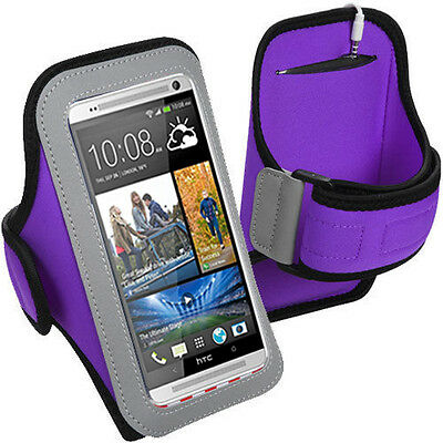 Armband Gym Jogging Biking Hiking Running Case HTC One A9 A9u 6600 Max, Eye M910