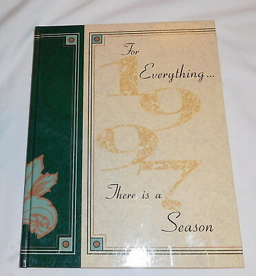 Buffton college Ohio Ista Yearbook 1997 For Everything There is a Season
