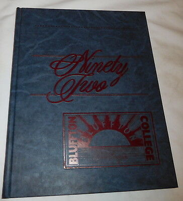 Buffton college Ohio Ista Yearbook 1992 dawn of a new age