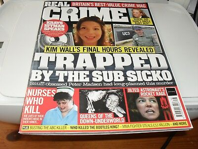 Real Crime Magazine   Issue 038 NEW  TRAPPED BY THE SUB SICKO