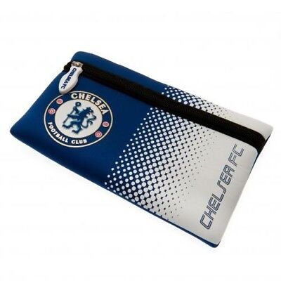 Chelsea Football Club Crest Blue & White Pencil Case