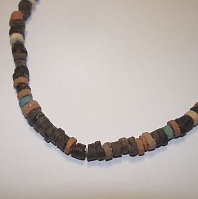 Extremely Ancient Egyptian Beads Necklace  600Bc