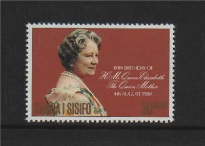 Samoa 1980 Queen Mother B/Day SG 572 MNH