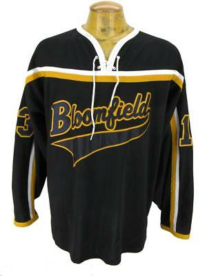 Mens Bloomfield Sewn Game  Minor Hockey Jersey Shirt XL X-Large