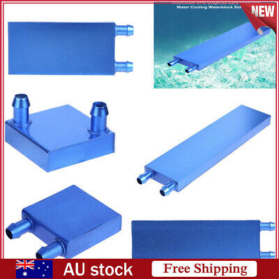 160x40x12mm Aluminum Water Cooling Block for PC CPU Graphics Radiator Heatsink