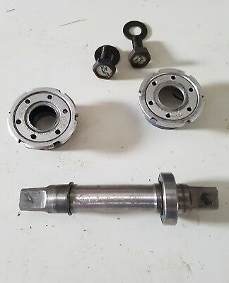 NO RESERVE FT Bologna  Movimento centrale titanium 115 mm  Bottom bracket