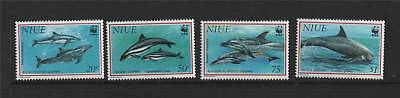 Niue 1993 Dolphins SG 763/6 MNH
