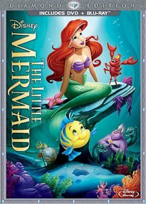 The Little Mermaid (Two-Disc Diamond Edition: Blu-ray / DVD in DVD Packaging), E