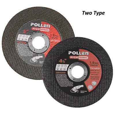 4.5'' 5'' Cutting Discs Wheels Thin Angle Grinder Cut Off Metal Steel Strip Flap