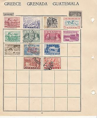 Greece EARLY Collection some OVPTS MINT/USED