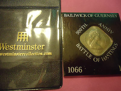 1966 Baliwick Of Guernsey 900Th Anniversary Battle Of Hastings Ten Shillings