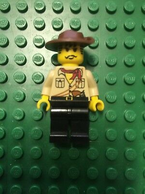 LEGO OMINO ADVENTURERS ORIENT EXPEDITION JOHNNY THUNDER Pistola MINIFIGURE BROWN