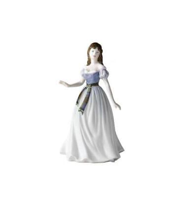 Spirit of Scotland - Royal Doulton Pretty Ladies Figurine SALE FROM £150