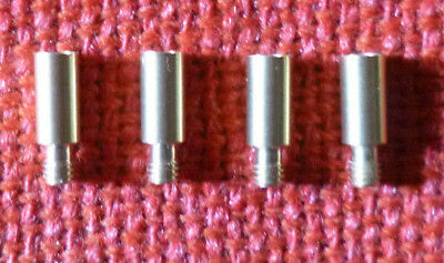 BANKNOTE & COIN ALBUM SCREW EXTENSION POST suits current VST Albums - Set of 4