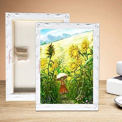 Blank Square Artist Canvas Wooden Board Frame Painting Primed Oil Acrylic Paint