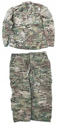 US Army FR OCP Multicam ACU camouflage Tarnanzug Hose Jacke MS Medium Short
