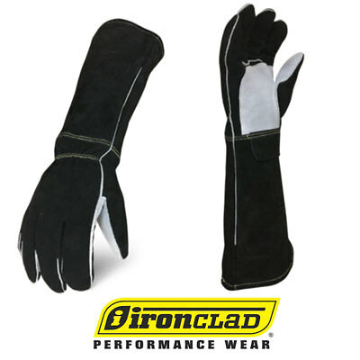 IronClad Stick Welder Premium Elkskin & Leather Welding Gloves - Select Size