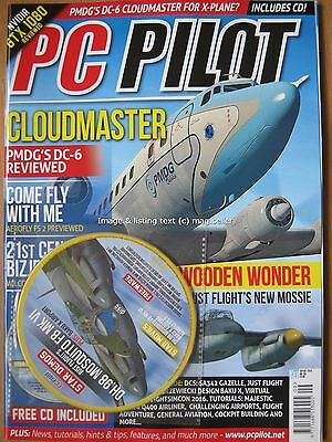PC Pilot September October 2016 Cloudmaster PMDG DC-6 Aerofly FS 2 Falcon 7X
