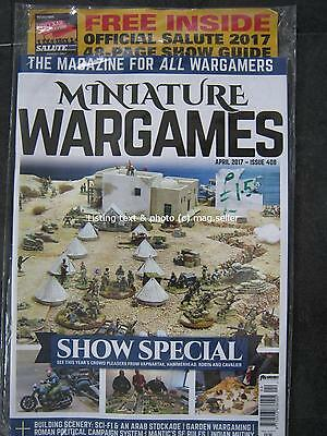 Miniature Wargames April 2017 issue 408 Show Special Vapnartak Hammerhead