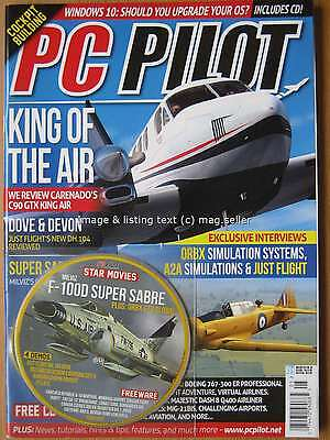 PC Pilot May June 2016 Carenado C90 GTX King Air ORBX A2A Just Flight
