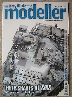 Military Illustrated Modeller April 2017 AFV Edition AMX30B2 Nuremberg Toy Fair