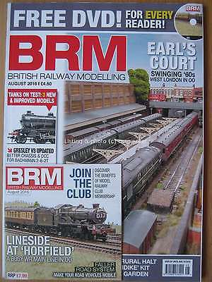 British Railway Modelling August 2016 Earl's Court Tanks on Test Horfield & DVD