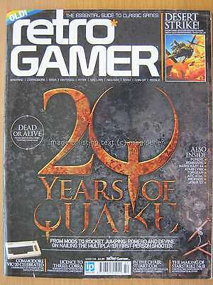 Retro Gamer Load 154 20 Years of Quake Desert Strike Commodore VIC-20 Cobra Cox